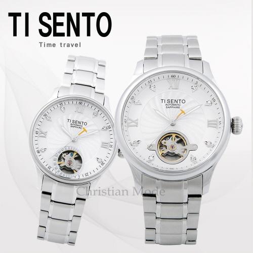 [티센토 TISENTO] TS50301WS 하버시티 커플시계