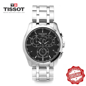 [티쏘시계 TISSOT]  T035.617.11.051.00 (T0356171105100) 꾸뜨리에 Decorating the drop 41mm