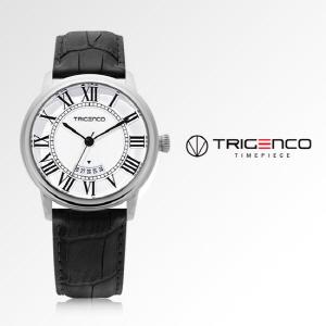 [트리젠코시계 TRIGENCO] TG-0100-WH 유재석시계 43mm