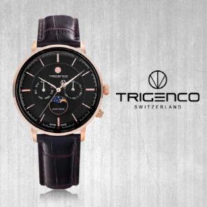 [트리젠코시계 TRIGENCO] TG-1000L-RGG/BR Zivil(지빌) /SWITZERLAND