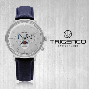 [트리젠코시계 TRIGENCO] TG-1000L-WH/BU 42mm