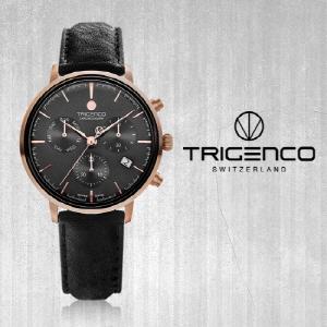 [트리젠코시계 TRIGENCO] TG-3000L-RGG/BK Zeitmesser(자이트메써) /SWITZERLAND