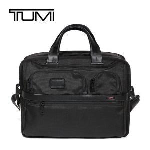 [투미가방 TUMI] 026141D2 Alpha 2 26141 (Black) Expandable Organizer 서류가방 Expandable Organizer Laptop Brief