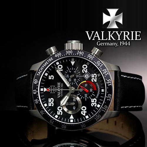 [VALKYRIE 발키리] 발키리 스타우펜베르그 타키미터 블랙베젤 V-7001A (7001A-BTC)
