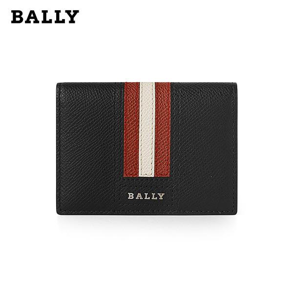 [발리 BALLY] 6218085 (TARDS LT 10) TARD 타드 남성 카드지갑 블랙 타임메카