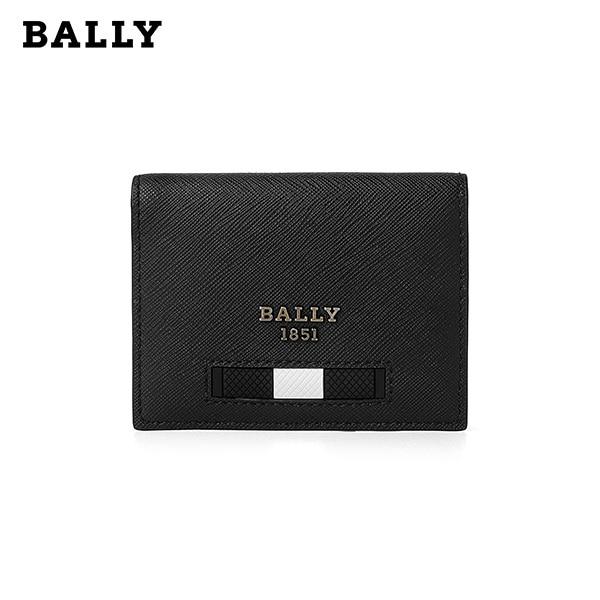 [발리 BALLY] 6238944 (BALDER MY 100) BALDER 발더 남성 카드지갑 블랙 타임메카