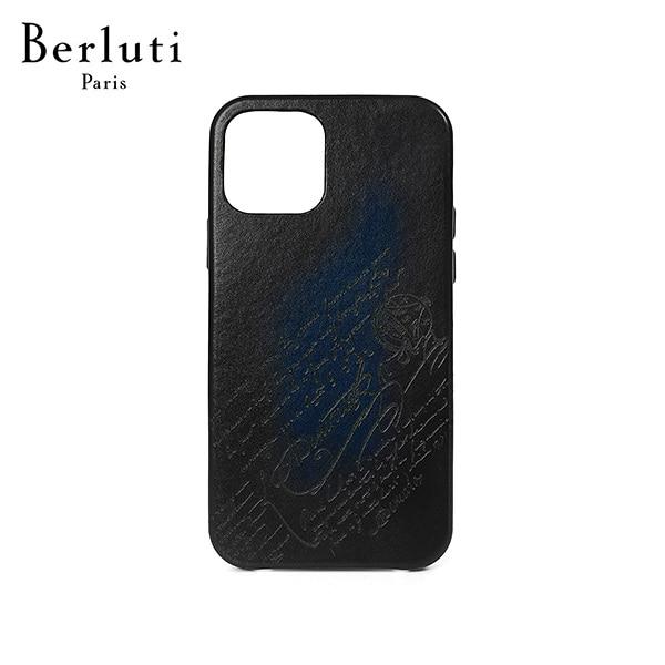 [벨루티 BERLUTI] X217006 아이폰 12 프로 남성 핸드폰케이스 블루 타임메카