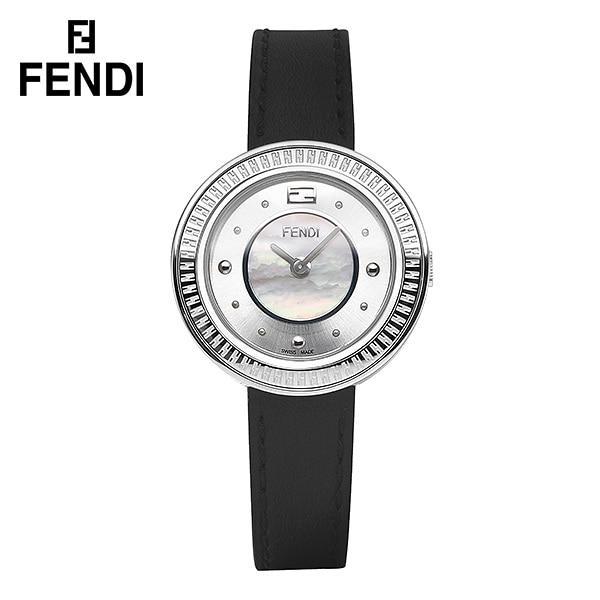 [펜디 FENDI] F370024511 / MY WAY 자개 쿼츠 여성 가죽시계 28mm 타임메카