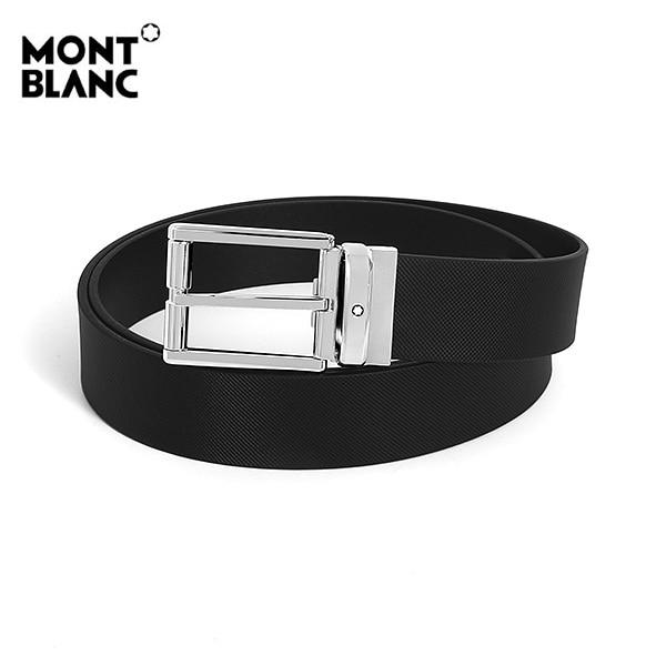 [몽블랑 MONTBLANC] 126028 / 남성 벨트 블랙 타임메카