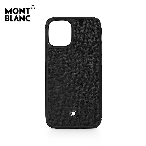 [몽블랑 MONTBLANC] 128655 / 사토리얼 Sartorial iPhone 12 Mini 공용 핸드폰케이스 블랙 타임메카