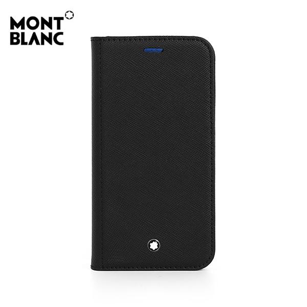 [몽블랑 MONTBLANC] 128656 / 사토리얼 Sartorial iPhone 12 Mini 공용 핸드폰케이스 블랙 타임메카
