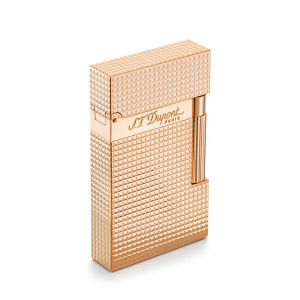 [듀퐁 S.T.Dupont] 016424 (CA16424ZZ) / 핑크 골드 피니쉬 라이터 로즈골드 타임메카