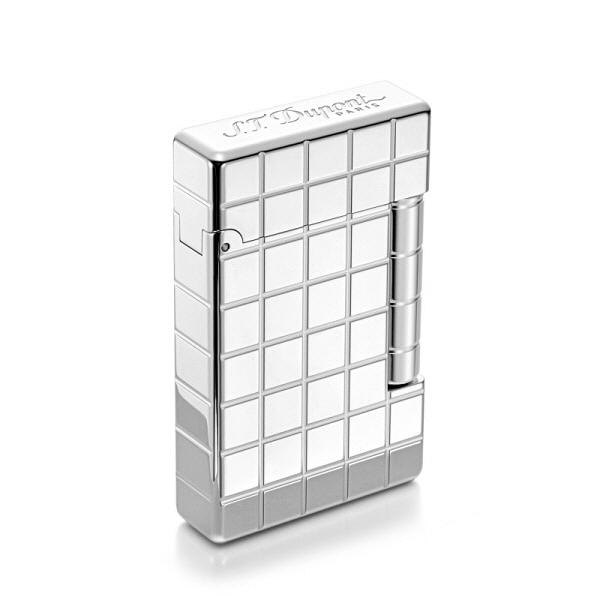 [듀퐁 S.T.Dupont] 020800B / 이니셜 카드리야주 라이터 실버 타임메카