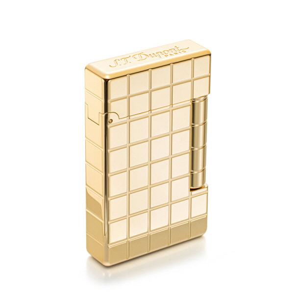[듀퐁 S.T.Dupont] 020801B / 이니셜 카드리야주 라이터 골드 타임메카