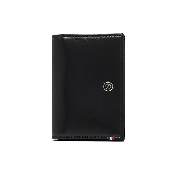 [듀퐁 S.T.Dupont] 180013 (CI180013Z) / 엘리제 라인 D 명함지갑 블랙 타임메카