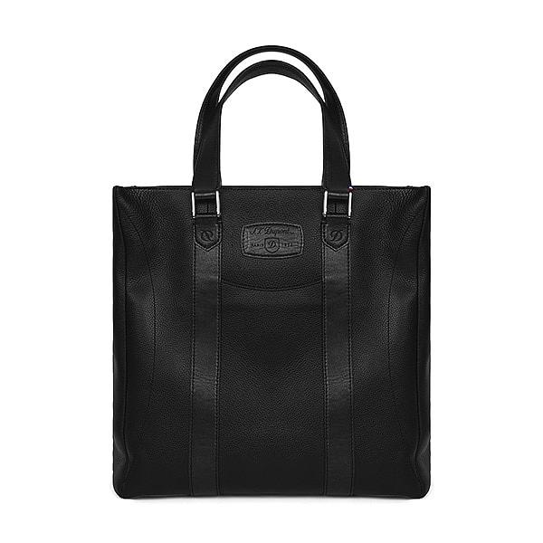 [듀퐁 S.T.Dupont] 181258 (CG181258Z) / 라인 D LINE D 남성 토트백 블랙 타임메카
