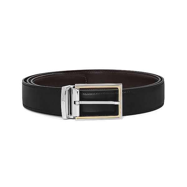 [듀퐁 S.T.Dupont] 7090120 (CJ7090120) / 라인 D LINE D 남성 벨트 블랙 타임메카