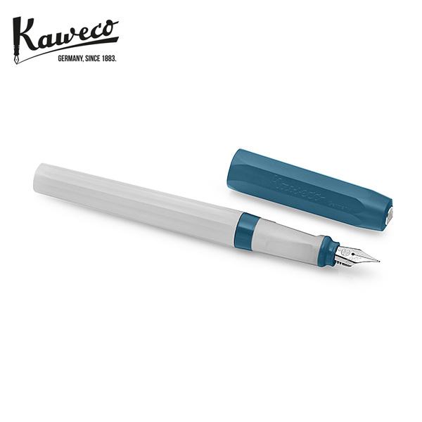 [카웨코 KAWECO] 10001310 페르케오 올드 샴브레이 (F촉) 만년필 블루 타임메카