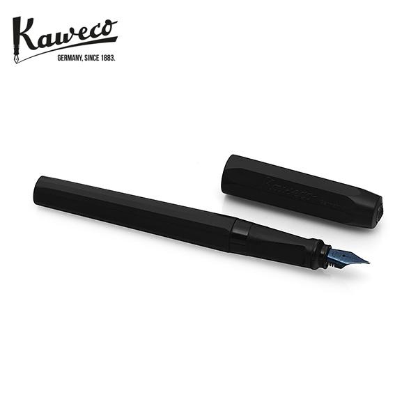 [카웨코 KAWECO] 10001817 페르케오 올 블랙 (M촉) 만년필 블랙 타임메카