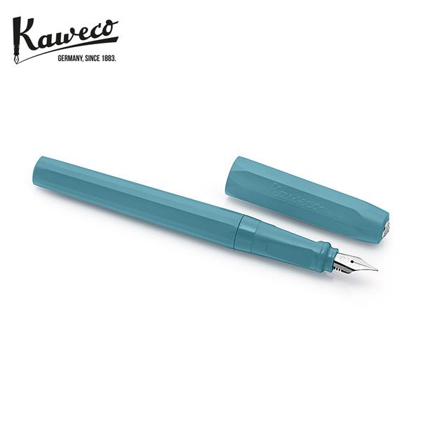 [카웨코 KAWECO] 10002224 페르케오 브리지 틸 (F촉) 만년필 블루 타임메카