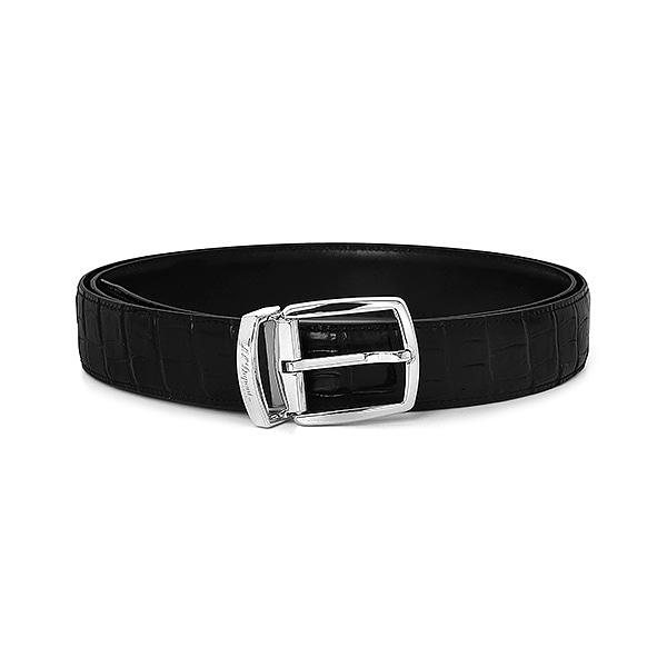 [듀퐁 S.T.Dupont] 8200171 (CJ8200171) / 유러피안 비즈니스 남성 벨트 블랙 타임메카