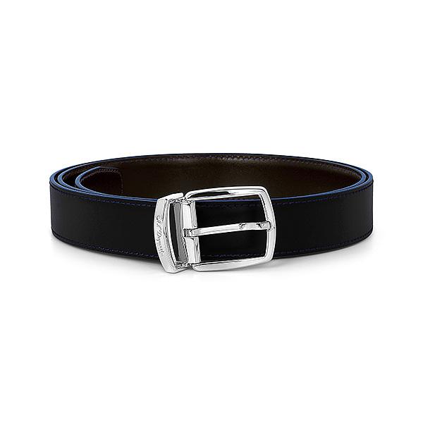 [듀퐁 S.T.Dupont] 8200180 (CJ8200180) / 라인D 벨트 블랙 타임메카