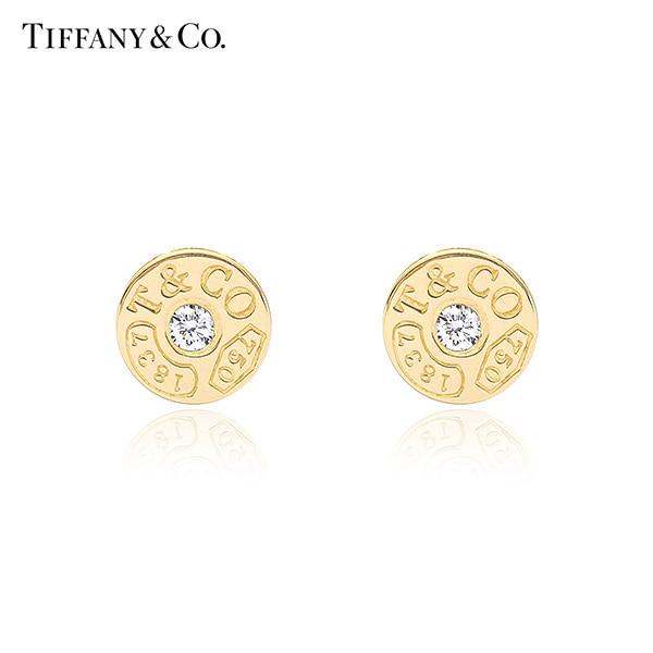 [티파니 TIFFANY] 33285655 / Tiffany 1837 티파니 1837 서클 18K 골드 귀걸이 타임메카