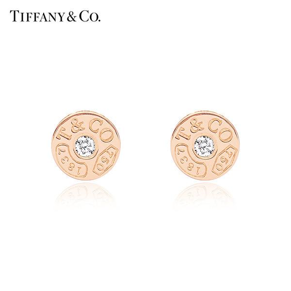 [티파니 TIFFANY] 33285671 / Tiffany 1837 티파니 1837 서클 18K 로즈골드 귀걸이 타임메카