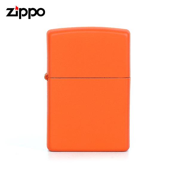 [지포 ZIPPO] ZP231 (231) / 매트 MATTE 윈드 프루프 라이터 오렌지 타임메카