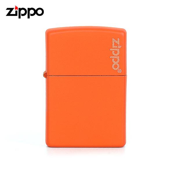 [지포 ZIPPO] ZP231ZL (231ZL) / 매트 MATTE 윈드 프루프 라이터 오렌지 타임메카