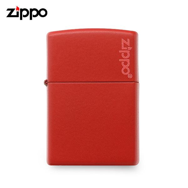 [지포 ZIPPO] ZP233ZL (233ZL) / 매트 MATTE 라이터 레드 타임메카