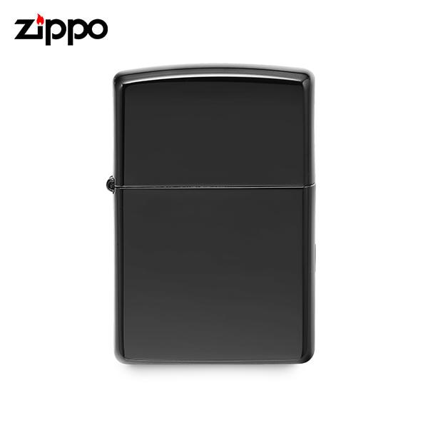 [지포 ZIPPO] ZP24756 (24756) / 에보니 Ebony 하이폴리쉬 라이터 블랙 타임메카