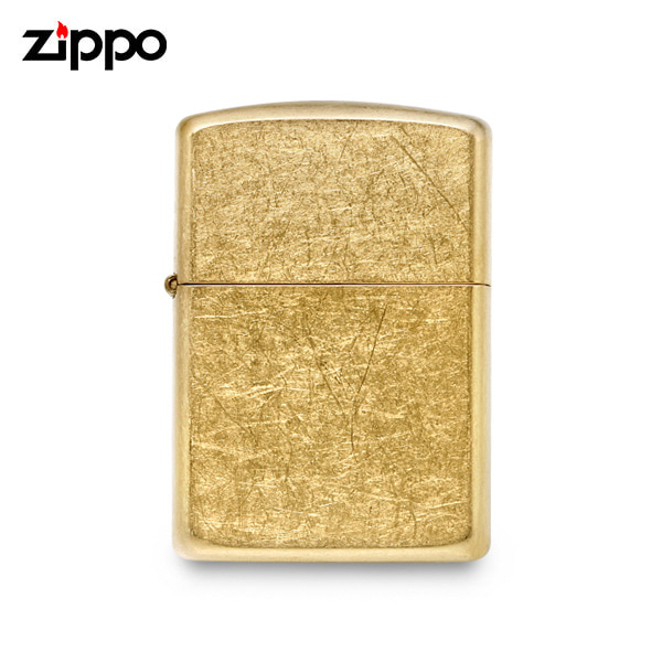 [지포 ZIPPO] ZP28496 (28496) / 아머 Armor 텀블드 라이터 골드 타임메카