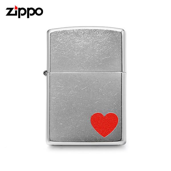 [지포 ZIPPO] ZP29060 (29060) / 아머 Armor 하트마크 라이터 실버 타임메카