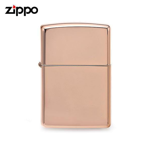 [지포 ZIPPO] ZP49190 (49190) / 클래식 Classic 하이폴리쉬 라이터 로즈골드 타임메카